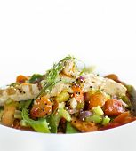 foto of stir fry  - Healthy chicken Stir Fry - JPG