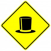 foto of top-hat  - top hat sign - JPG