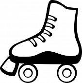 pic of roller-derby  - roller skates - JPG
