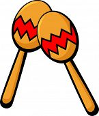 picture of maracas  - maracas musical instrument - JPG
