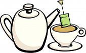 Постер, плакат: чайник и Кубок