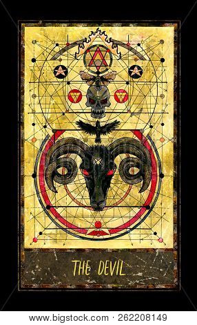Devil Major Arcana Tarot Card