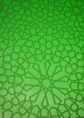 Islamic geometric background