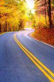 stock photo of twisty  - Winding road - JPG