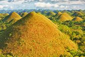 stock photo of chocolate hills  - View of The Chocolate Hills - JPG