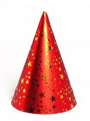 picture of birthday hat  - red party hat - JPG