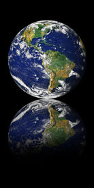 picture of planet earth  - Globe  - JPG