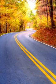 stock photo of twisty  - Winding road - JPG