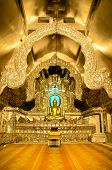 picture of vihara  - sacred Buddha image in great silver Vihara - JPG