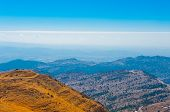 stock photo of golan-heights  - View from Mount Hermon to the Golan Heights Israel - JPG