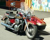 picture of sidecar  - motorcycle  - JPG