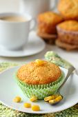 Homemade Gluten-free Muffins From Corn Flour