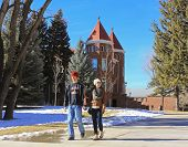 A Young Couple At Northern Arizona University