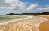 Playa al norte de Australia Coffs Harbour