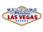 picture of las vegas casino  - Las Vegas Sign in white backgropund - JPG