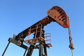 stock photo of big-rig  - Oil Pump Jack  - JPG