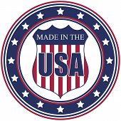Made In Usa-Briefmarke