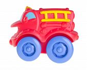 stock photo of railroad car  - Baby car Baby toy car on the background - JPG