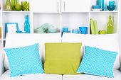picture of blue things  - Modern interior design - JPG