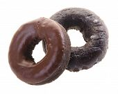 picture of donut  - donuts chocolate donuts on background - JPG