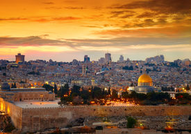pic of promises  - View to Jerusalem old city - JPG