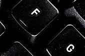 foto of keypad  - computer keypad close up keys detail  - JPG