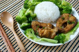 picture of fresh water fish  - Vietnamese food ca kho to or fish cook with sauce caramel fish a Asian eating raw material as fresh water fish onion garlic pepper this meal vey nutrition delicious - JPG