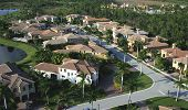 foto of opulence  - Aerial photograph of a Florida neighborhood taken in 2008 - JPG
