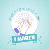 1 March Compliment Day poster