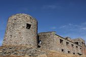 The old observatory was built on the crust in the Carpathian Mountains on Mount P