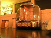 foto of jukebox  - Pick out a song from your table jukebox - JPG