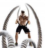 muscular poster