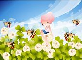 stock photo of fairy-tale  - Summer Fairy Tale - JPG