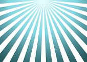 Sun Rays Background. Abstract Blue Sun Rays Background poster