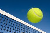 stock photo of deuce  - An image depicting the concept of tennis - JPG