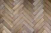 Old Oak Parquet Background, Light Old Oak Flooring, Oak Parquet In Old House, Hardwood Old Oak Floor poster