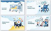 Online Marketing, Best Web Analytics Tools, Effective Keyword Targeting Tools, Social Media Advertis poster