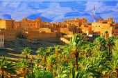 Moroccan Kasbah, Atlas Mountains, Africa