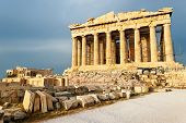 image of parthenon  - Scenic view of Parthenon Temple - JPG