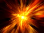 Image of abstract explosion background.
