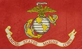 picture of united states marine corps  - Grunge flag of the United States Marine Corps - JPG