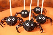 picture of stick-bugs  - Spider cake pops - JPG