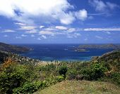 stock photo of west indies  - View overlooking Speyside Tobago Trinidad and Tobago Caribbean West Indies - JPG