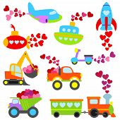 foto of monster-truck  - Cute Valentine - JPG