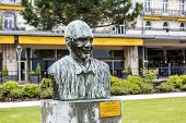 Statue von Quincy Jones In Montreux