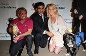 Cesar Millan, Tony Cardenas and Katherine Heigl  at a Press Conference For JDHF Animal Advocacy, Fou