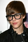 Justin Bieber  at in in-store to sign copies of