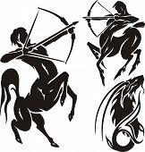 pic of centaur  - Zodiac Signs - JPG