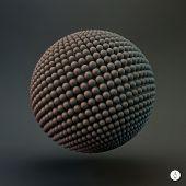 stock photo of nanotechnology  - Sphere - JPG