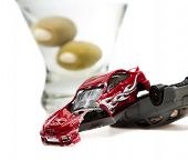 stock photo of tragic  - DUI concept - JPG